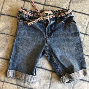 Girl's jean shorts